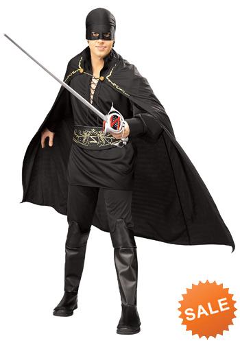 Adult Zorro Halloween Costume for Men