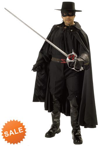 Authentic Zorro Costume for Cosplay
