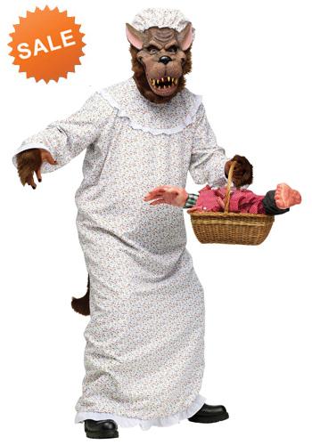 Grandma Big Bad Wolf Costume