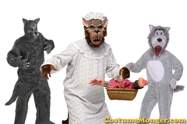 Big Bad Wolf Costumes for Halloween