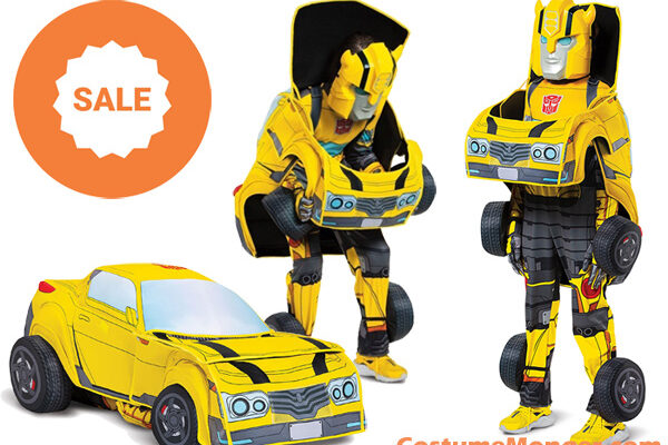 Converting Bumblebee Costume
