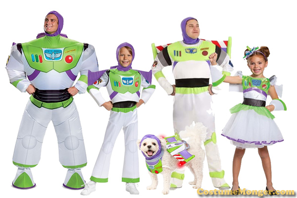 Buzz Lightyear Costumes Toy Story