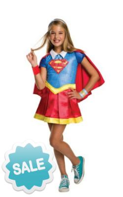 Child DC Superhero Girls Supergirl Costume
