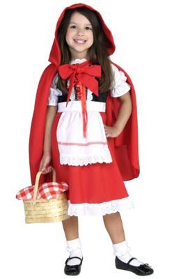 Child Little Red Riding Hood Dress