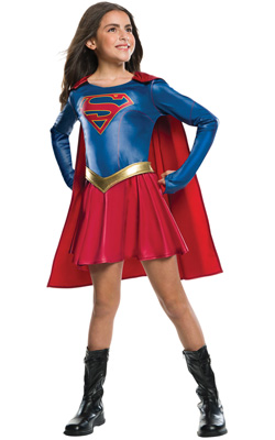 child Supergirl TV Costume
