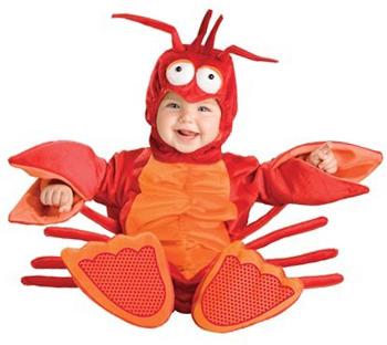 cute baby lobster Halloween costume