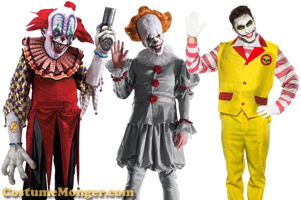 evil clown costume ideas