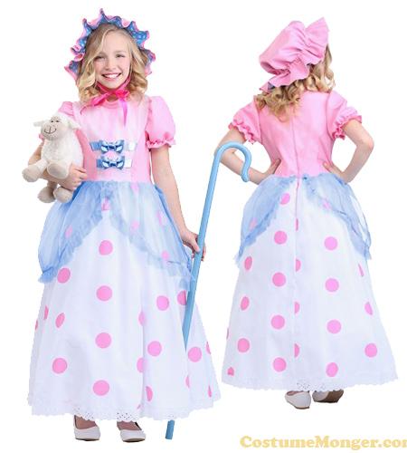 Child Little Bo Peep Costume for Girls