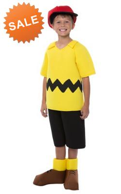 Kid Charlie Brown Halloween Costume