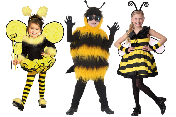 kids bee costumes