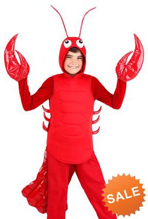 Kids Lobster Halloween Costume
