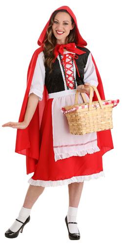 adult little red riding hood basket