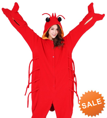 Kigurumi Lobster Costume