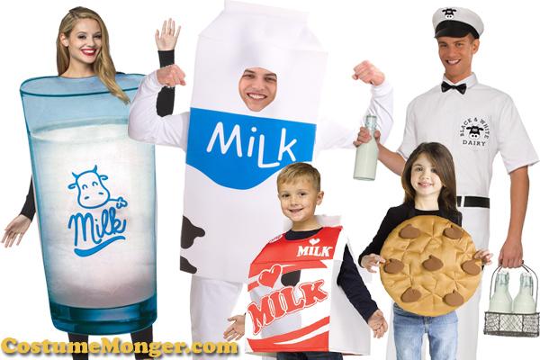 Milk Costume Ideas for Halloween