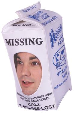 Missing Person Milk Hat