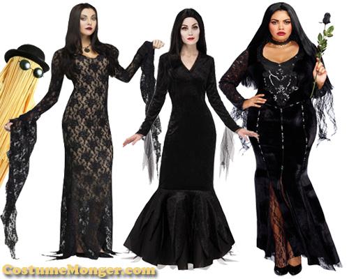 morticia addams costumes-500