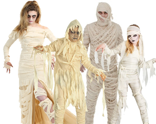 Mummy Costumes for Halloween