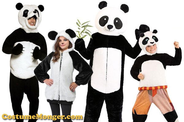 Panda Costume Ideas for Halloween
