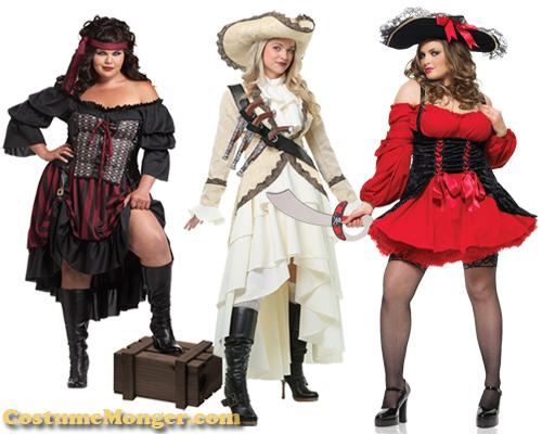 pirate women costume ideas for Halloween