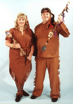 Plus Size Davy Crockett Costume