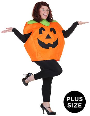 Plus Size Pumpkin Costume