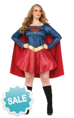 Plus Size Supergirl Costume