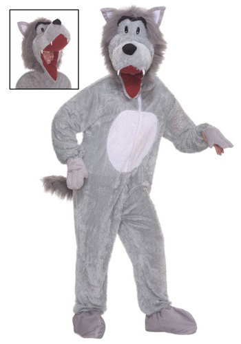 Storybook Big Bad Wolf Costume