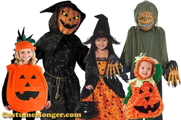 More Pumpkin Halloween Costume Ideas