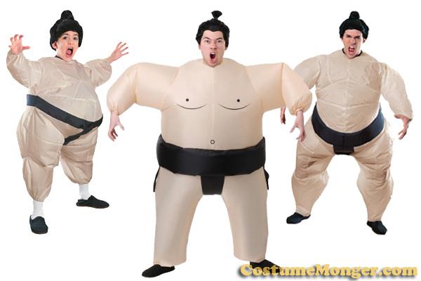Inflatable Sumo Wrestler Costumes