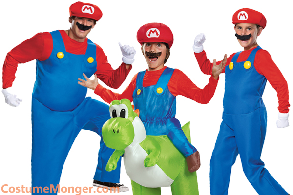 super mario brothers Halloween costumes
