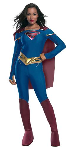 New Adult Women's Supergirl TV Costume