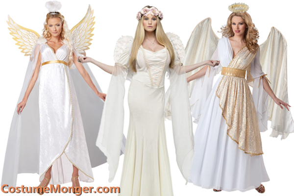 white angel costumes for Christmas