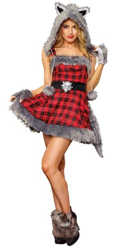 womens big bad wolf costume