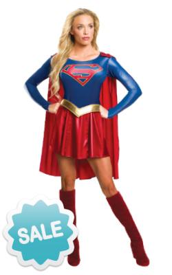 Adult Supergirl TV Costume