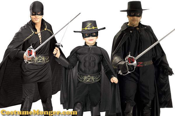 Zorro Halloween Costume Ideas